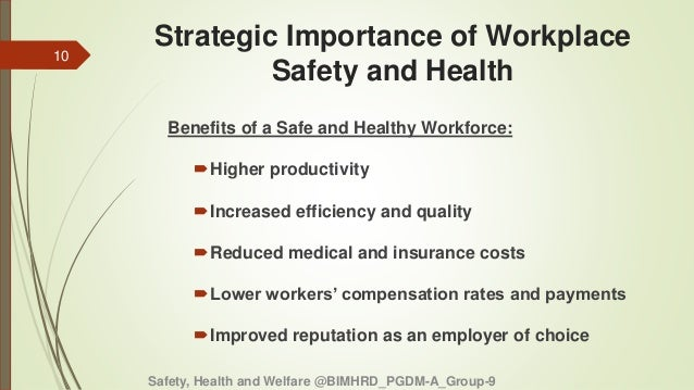 workplace health safety and welfare Workplace health, safety and welfare: workplace (health, safety and welfare) regulations 1992 - approved code of practice and guidance by health and safety executive (hse) and a great selection of similar used, new and collectible books available now at abebookscom.