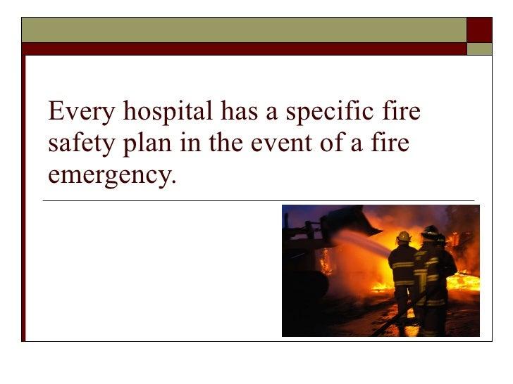 Safety in hospitals Slide 3