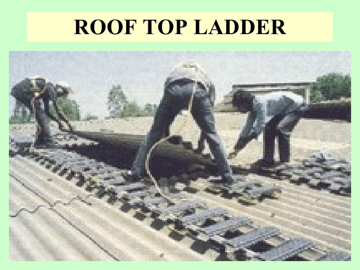 Safety In Working On Fragile Roof