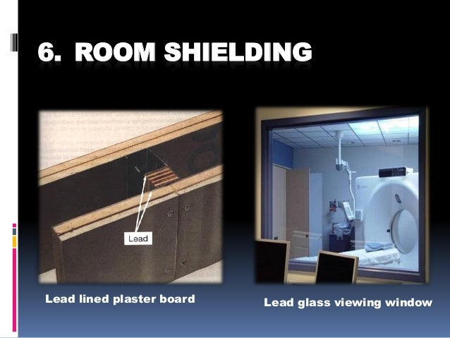 Safety measures in radiology department for X ray room decor