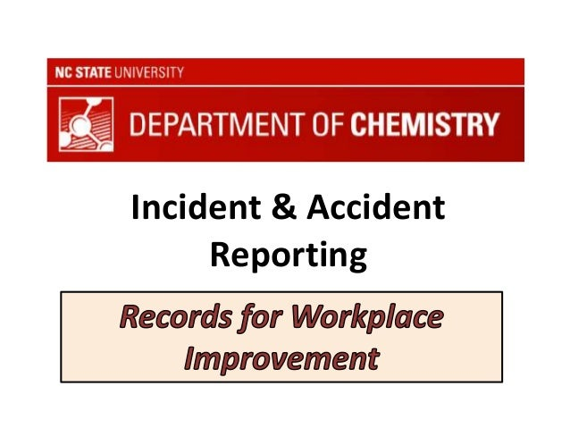 Incident & Accident Reporting