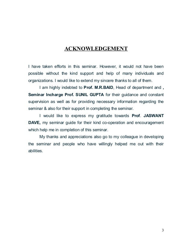 jiet btech seminar report format ii Guidelines for the preparation and presentation of seminar reports document may be used for the preparation of seminar and presentation reports associated with the academic programme of btech it does not cover progress report which will be appendix ii: sample sheet for title page.