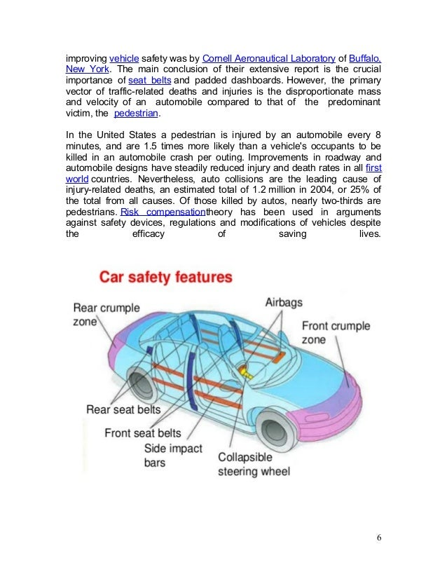 Safety Of Automobile Report