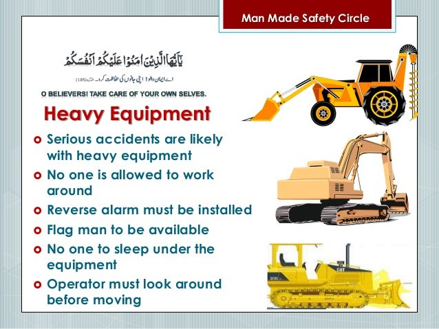 Safety Orientation English Arabic