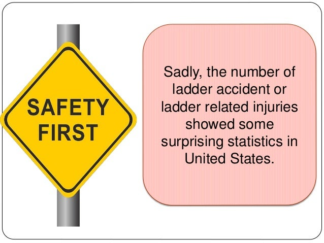 Safety Precautions In Using Ladders
