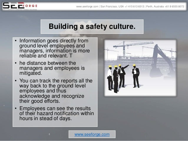 Can a mobile safety app prevent accidents in the oil and gas