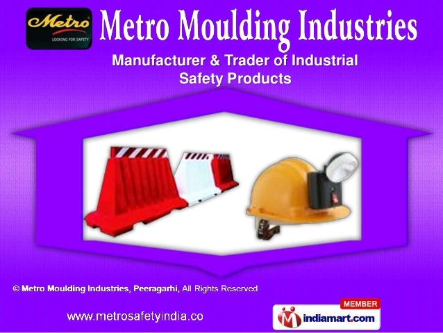 Manufacturer & Trader of Industrial        Safety Products