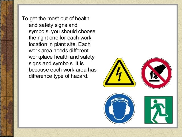 Safety signs and symbols - a short guide
