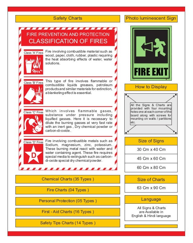 Safety signs e brochure