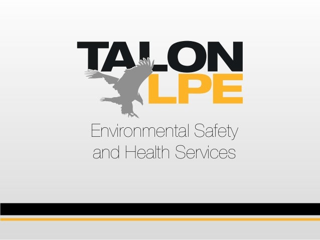 Environmental Safety and Health Services