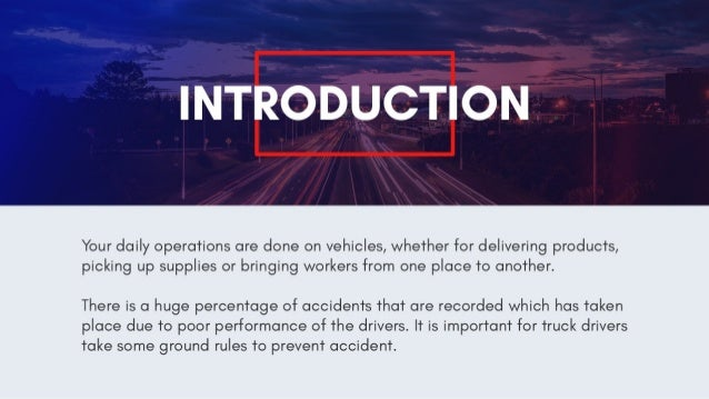 daily safety tips for truck drivers