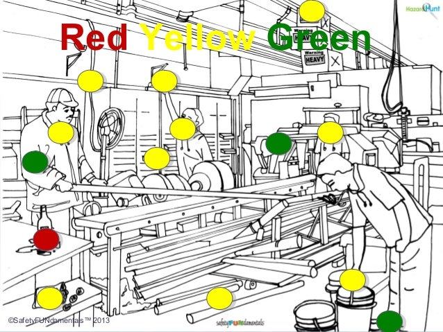 Red Yellow Green ©SafetyFUNdamentals™ 2013