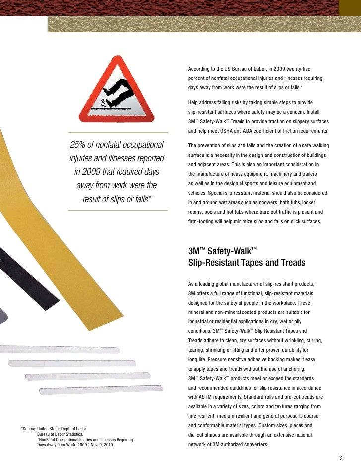 Safety Walk Brchr - Ada slip resistance