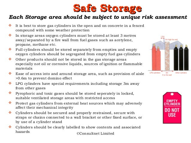 a report on the risks of carrying the hazardous gas cylinders They should understand the risks associated with the gas cylinder and its contents  anyone carrying out the filling of gas cylinders should wear appropriate.
