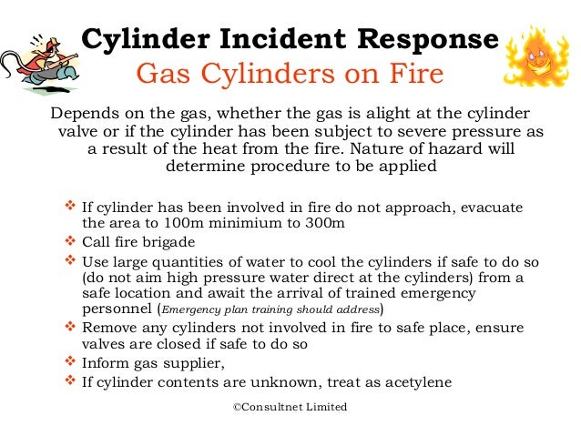 Safe Use Of Cylinder Gases By Consultnet Limited