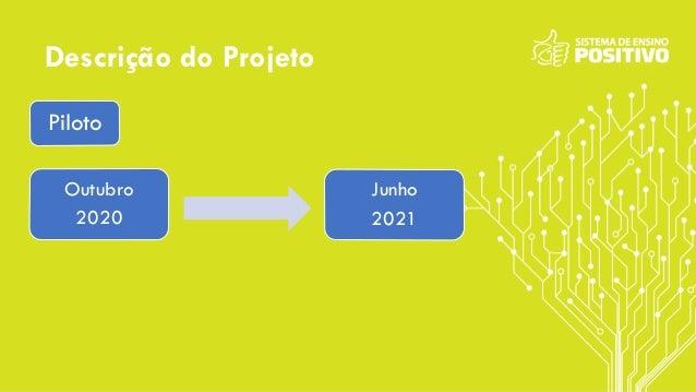 Descrição do Projeto Outubro 2020 Junho 2021 Piloto