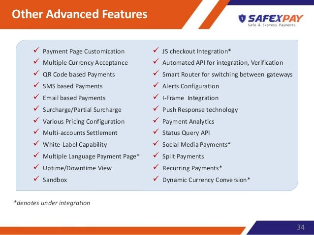 Safex pay wl-pg-presentation