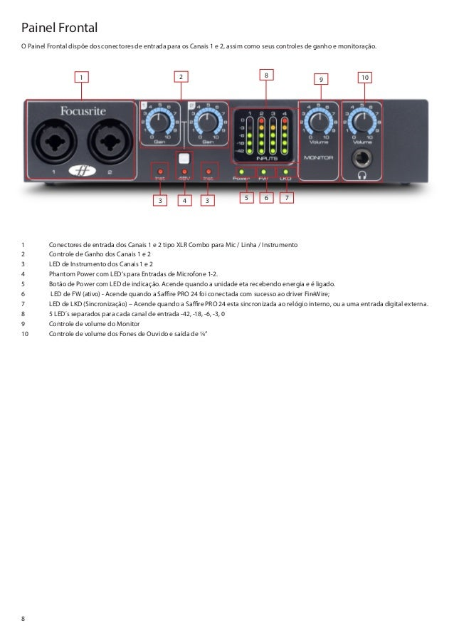 Saffire Pro 24 Dsp Manual