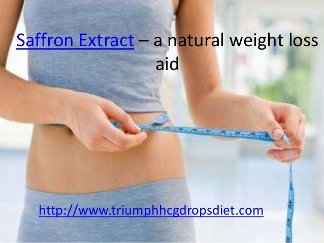 Saffron Extract A Natural Weight Loss Aid