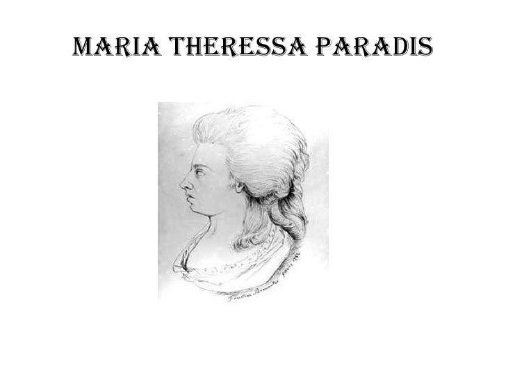 Maria Theressa Paradis