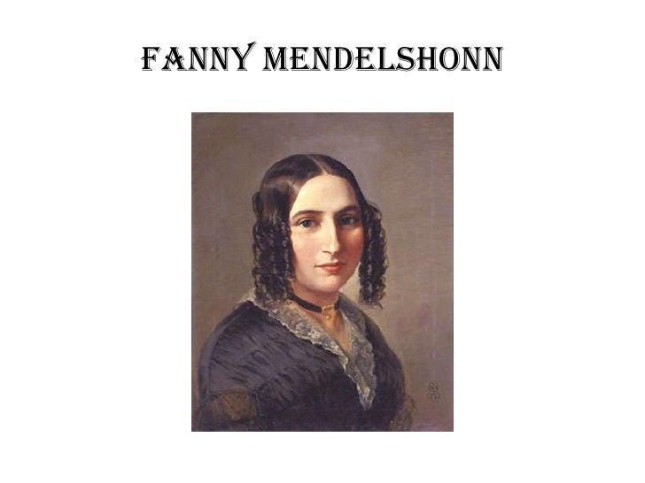 Fanny Mendelshonn