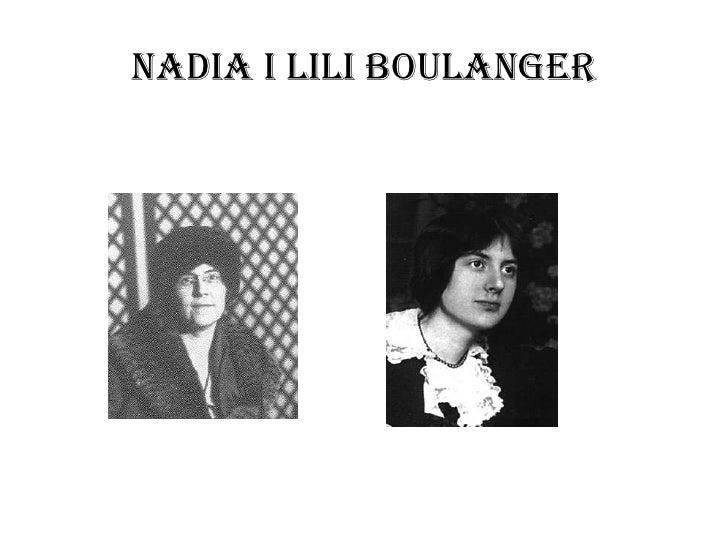 Nadia i lili Boulanger