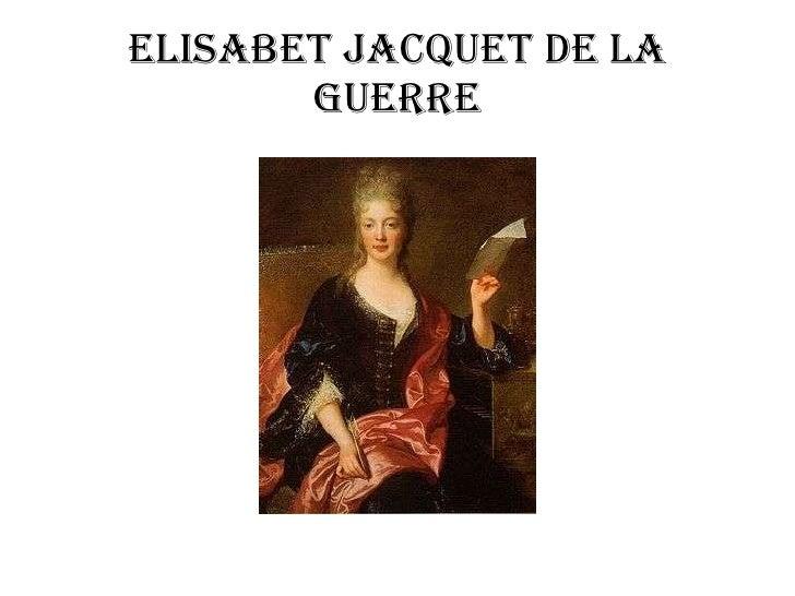 Elisabet Jacquet de la Guerre