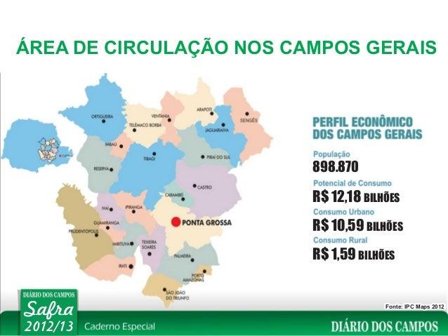 ÁREA DE CIRCULAÇÃO NOS CAMPOS GERAIS                         898.870                         R$ 12,18 BILHÕES             ...