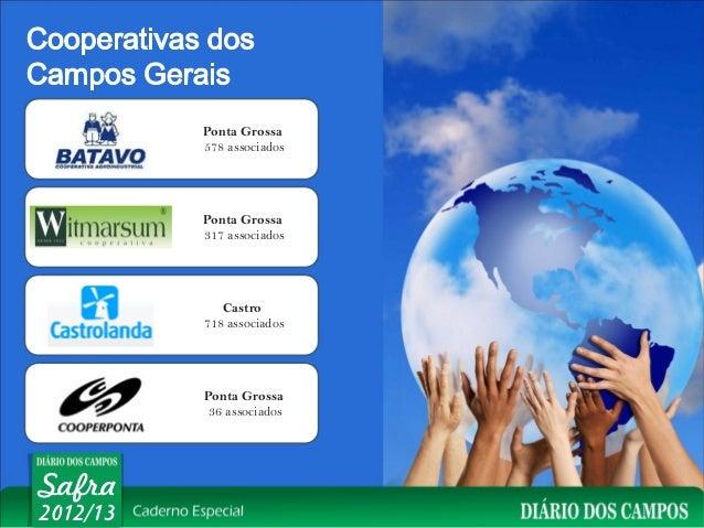Ponta Grossa          578 associados          Ponta Grossa          317 associados             Castro          718 associa...