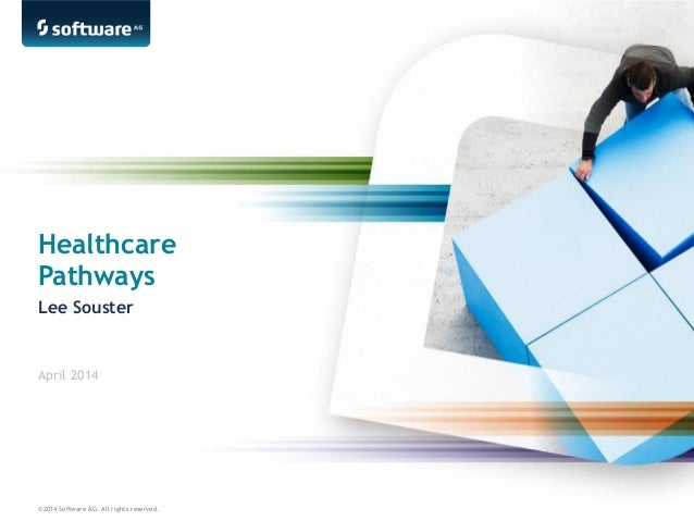 ©2014 Software AG. All rights reserved. Healthcare Pathways Lee Souster April 2014
