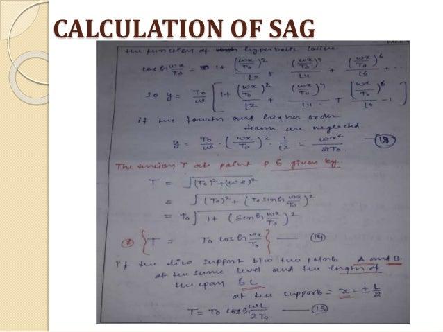 Sag and tension