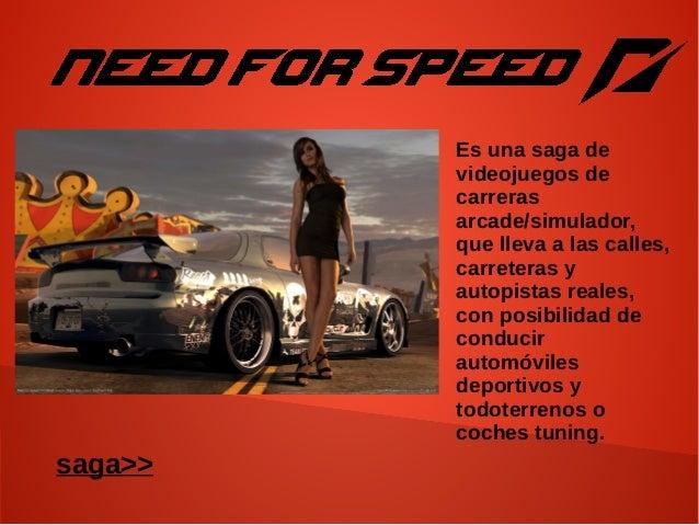 Es una saga de videojuegos de carreras arcade/simulador, que lleva a las calles, carreteras y autopistas reales, con posib...