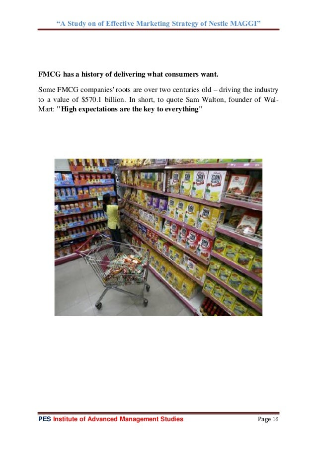 Consumer Goods Industry in India & Abroad