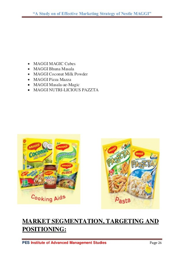 marketing mix strategies for maggi The recent controversy on maggi:  what all strategies they adopted to become a well known and well established brand  marketing mix the marketing mix and the.