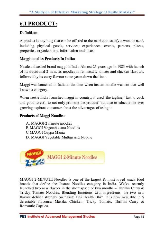 maggi marketing strategies Noodle market in india due to fast cooking properties, instant noodles  today  the promotional strategy and other marketing techniques of maggi lead .