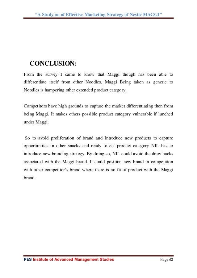 marketing strategies of nestle india Nestle india ltdproject report on submittd by : prasheet singh tomar pi oneer institute of professnal studies madhya pradesh.