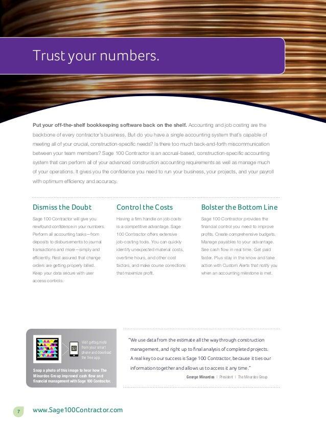 Sage 100 Contractor Overview