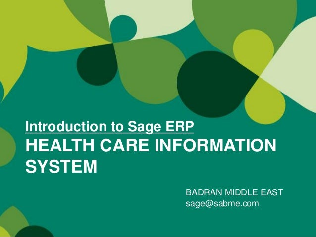 an introduction to health care information system and its effects Health information technology (it), such as computerized physician order entry and electronic health records, has potential to improve the quality of health care but the returns from widespread.