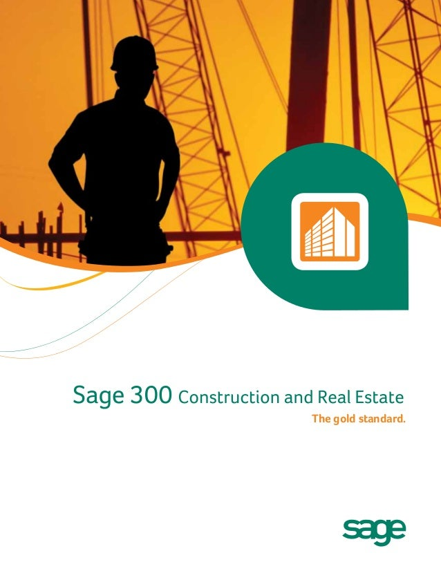 sage 300 construction and real estate user manual