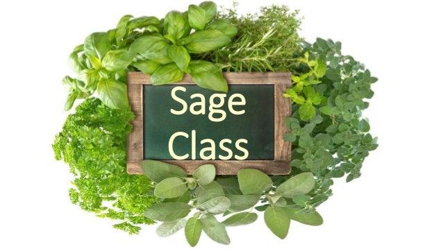 Sage Class
