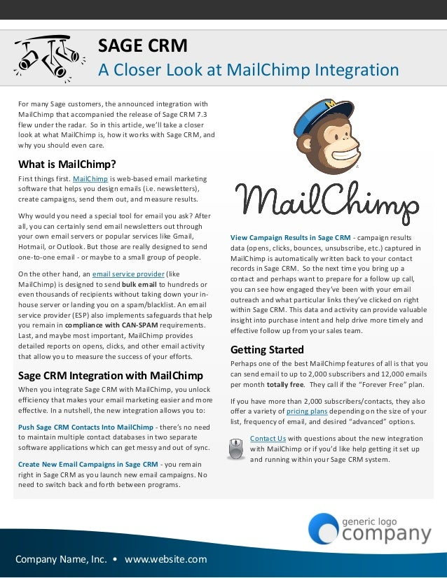 Sage 100 ERP Newsletter Sample Issue – Sample Company Newsletter