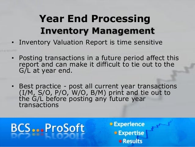 Year-End Processing with Sage 100 ERP (MAS 90 and MAS 200) | Q4 2014 …