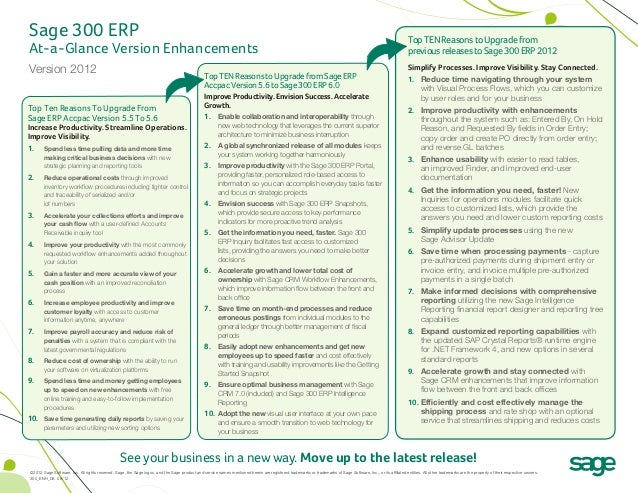 Sage 300 ERP                                                                                                              ...