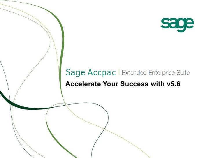 Accelerate Your Success with v5.6