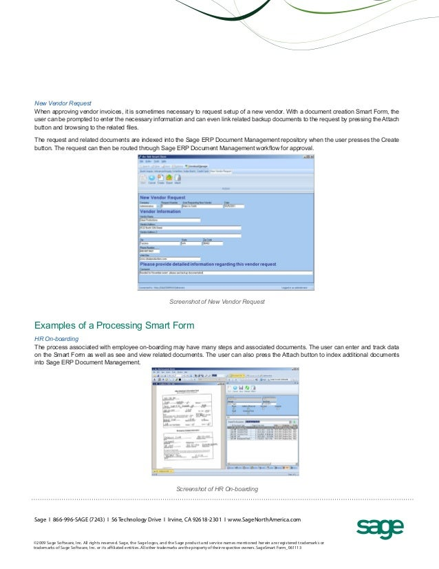 Sage ERP solutions Smart Form Toolkit (handout)