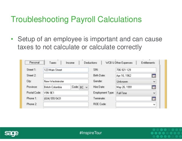 sage inspire tour sage 50 canadian payroll tips and tricks