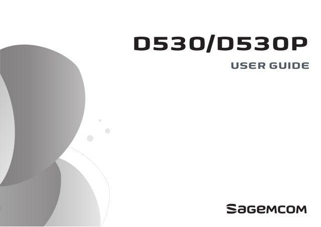 D530/D530P USER GUIDE