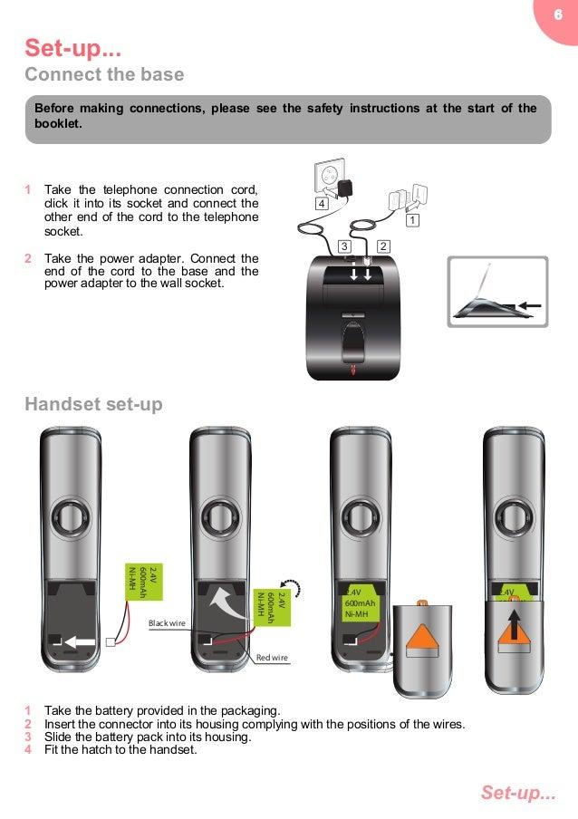 Sagemcom D770A Digital Cordless Phone User Guide