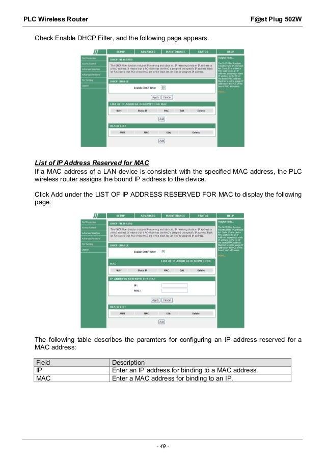 Sagemcom F St 2864 Manual