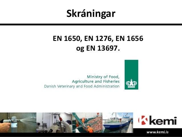 Reynsla og tilvísanir • Eldisstöðin Ísþór – Sigurður • Tor ehf- Arnar • HB Grandi – Loftur • Íslandssaga – Grétar • Einham...